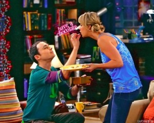 On The Big Bang Theory, Sheldon uses positive reinforcement by rewarding Penny's good behaviour with chocolate.  If it's good enough for Sheldon it must be legit.