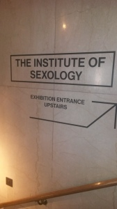 The Institute of Sexology and The Wellcome Collection in Euston.